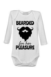 Perna personalizata Bearded for her pleasure Alb