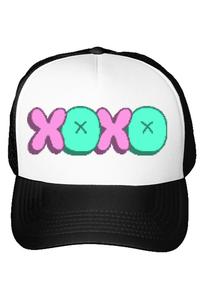 Tricou ADLER copil XOXO Alb