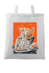 Tricou ADLER copil Chopper Bikers Alb