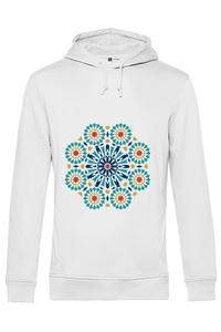 Cana personalizata Mandala Alb