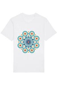 Masca personalizata reutilizabila Mandala Alb