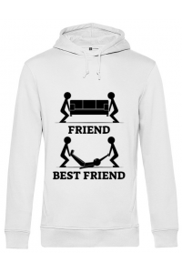 Cana personalizata Best friend Alb