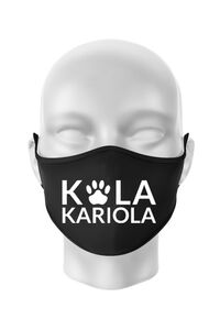 Hanorac dama cu gluga Logo Kola Alb Negru