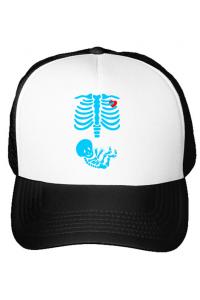Tricou ADLER copil Radiografie Alb