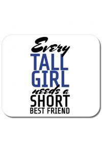 Sapca personalizata Tall best friend Alb
