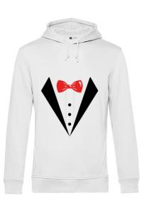 Tricou ADLER copil Groom suit Alb