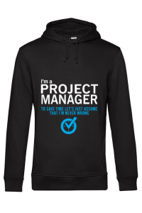 Tricou STANLEY STELLA barbat Project manager Negru