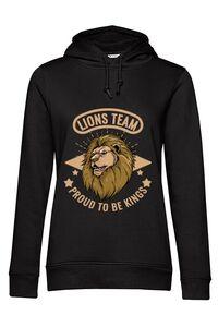 Tricou ADLER copil Lions team Negru