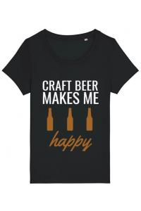 Tricou ADLER copil Craft beer Negru