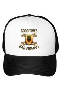 Tricou ADLER copil Good times Alb