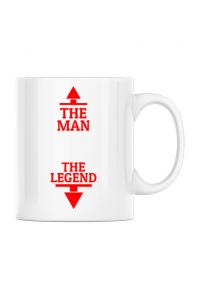 Tricou STANLEY STELLA barbat The man the legend Alb