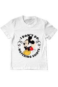 Masca personalizata reutilizabila Matching shirts Alb