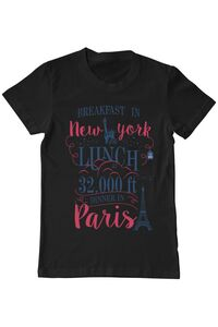 Tricou STANLEY STELLA dama Breakfast in New York Negru