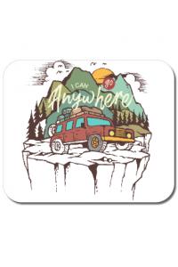 Perna personalizata Adventure Alb