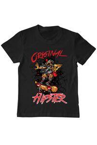Tricou ADLER barbat Original hipster Negru