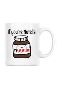 Tricou ADLER copil If you are nutella Alb