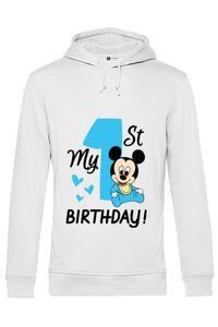 Tricou STANLEY STELLA barbat My first birthday Alb