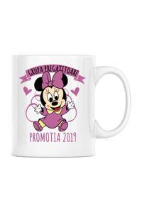 Perna personalizata Absolvire Minnie Mouse Alb
