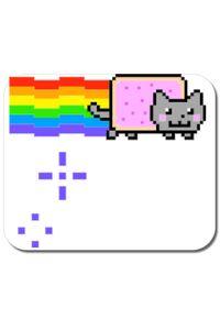Cana personalizata Nyan cat Alb