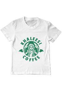 Hoodie barbat cu gluga Khaleesi coffee Alb