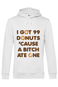 Baby body 99 Donuts Alb