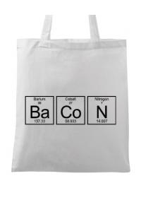 Tricou ADLER copil Bacon formula Alb