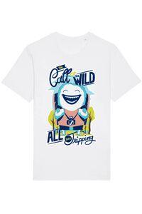Tricou ADLER copil Call of the wild Alb