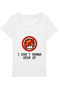 Perna personalizata I dont wanna grow up Alb
