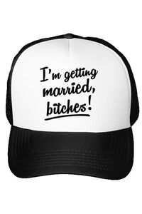 Tricou Mireasa STANLEY STELLA Im getting married bitches Alb