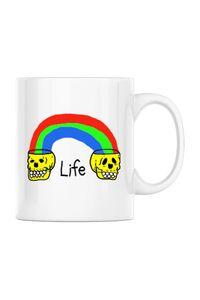 Perna personalizata Life Alb