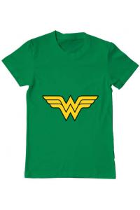 Tricou ADLER dama Wonder woman Verde mediu