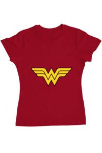 Tricou ADLER copil Wonder woman Rosu