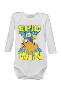 Mousepad personalizat Epic win Alb