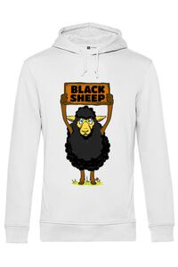 Sapca personalizata Black sheep Alb