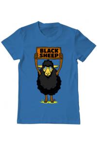 Tricou ADLER dama Black sheep Albastru azuriu