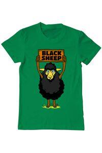 Tricou ADLER dama Black sheep Verde mediu