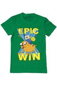 Tricou ADLER dama Epic win Verde mediu