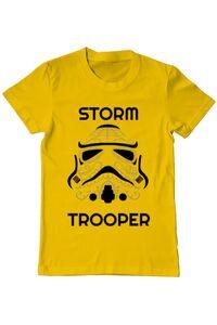 Tricou ADLER dama Storm trooper Galben