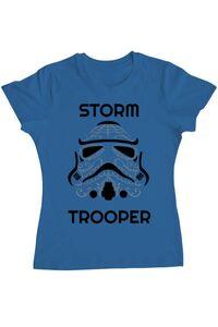 Tricou ADLER barbat Storm trooper Albastru azuriu