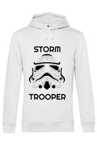 Sacosa din panza Storm trooper Alb