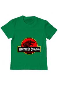 Tricou ADLER dama Jurassic winter Verde mediu