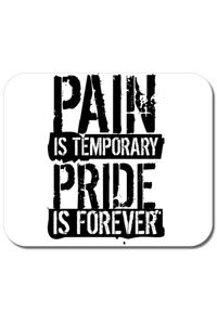 Sacosa din panza Pain and pride Alb