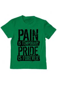 Tricou ADLER dama Pain and pride Verde mediu