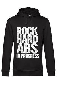 Masca personalizata reutilizabila Rock hard abs Negru