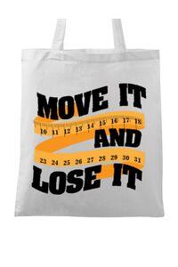 Mousepad personalizat Move it and lose it Alb