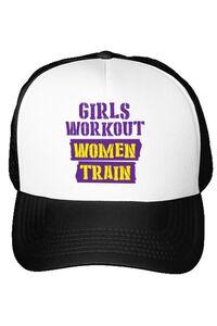 Cana personalizata Women train Alb