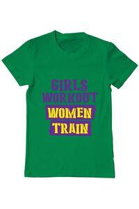 Tricou ADLER dama Women train Verde mediu