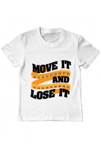 Tricou STANLEY STELLA barbat Move it and lose it Alb