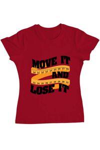 Tricou ADLER copil Move it and lose it Rosu