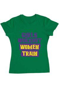 Tricou ADLER barbat Women train Verde mediu